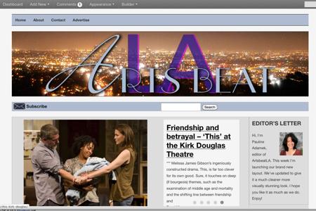 ABLA Screen shot launch