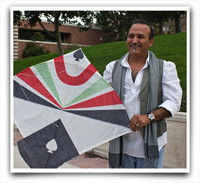 Kite-Making with Basir Beria