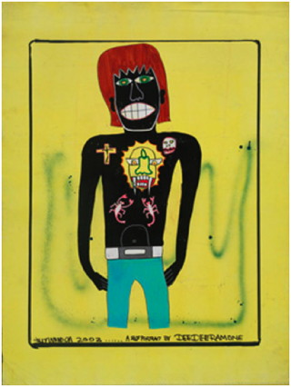 Untitled (Self Portrait) - Dee Dee Ramone