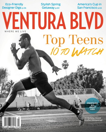 Ventura Blvd Magazine, April 2013