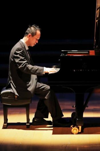 Piano Soloist Rueibin Chen at the Wallis