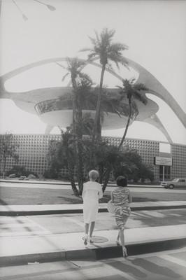 Los Angeles International Airport, 1964. Garry Winogrand (American, 1928 - 1984). American. Gelatin silver print. 35.6 x 27.9 cm (14 x 11 in.) © 1984 The Estate of Garry Winogrand. The J. Paul Getty Museum, Los Angeles.