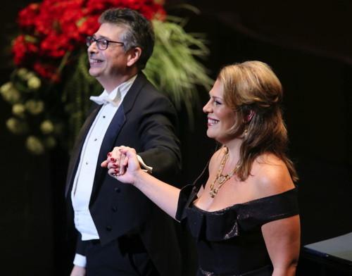 Sondra Radvanovsky and Anthony Manoli  Photo credit- Craig T. Matthew_Matthew Imaging — with LA Opera.