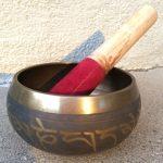 Buddhist Meditation Musical Instrument - Brass Singing Bowl.