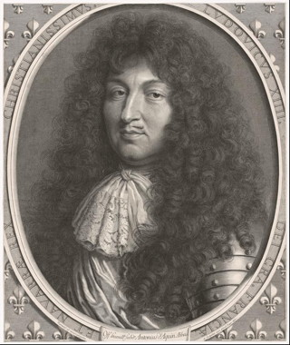 Louis XIV, King of France and Navarre, 1676, Robert Nanteuil (French, 1623–1678), Engraving, The Getty Research Institute (2012.PR.70)