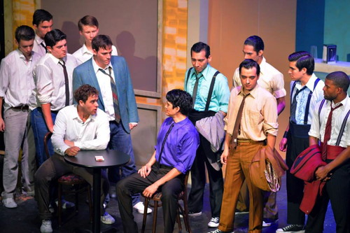 The cast of 'West Side Story'. Photo courtesy of Woodlawn Theatre.