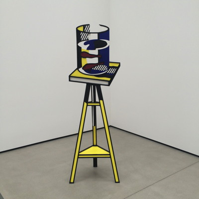 Lichtenstein sculpture