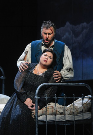 Leah Crocetto and Vitaliy Bilyy. All photos  ©Cory Weaver/San Francisco Opera.