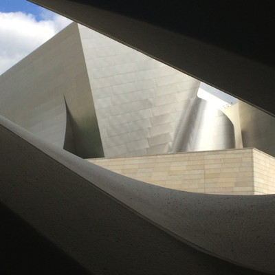View of Disney Hall