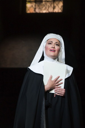 Ashley Brown plays The Mother Abbess -  Photo by Matthew Murphy.