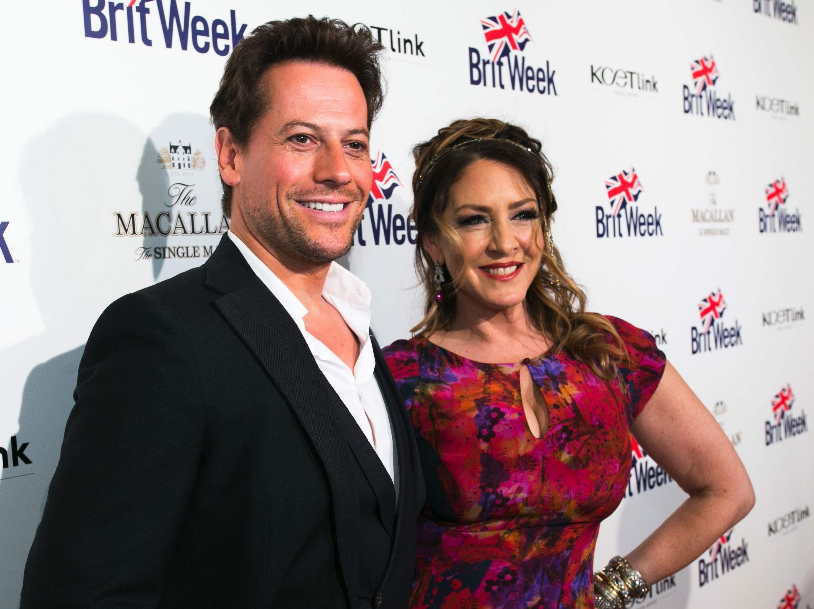 "Ioan Gruffudd and Joely Fisher at BritWeek's 10th anniversary performance of ""MURDER, LUST & MADNESS"" Images by Rex Gelert."