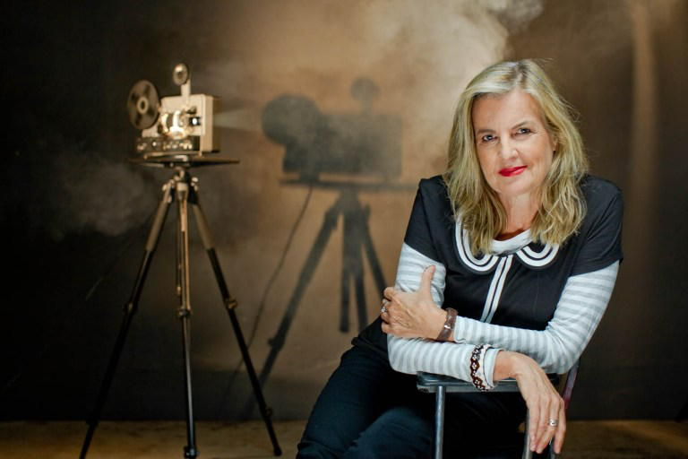 Gillian Armstrong, director of 'Women He's Undressed.' Photo by Tim Baure courtesy of Wolfe Vide.