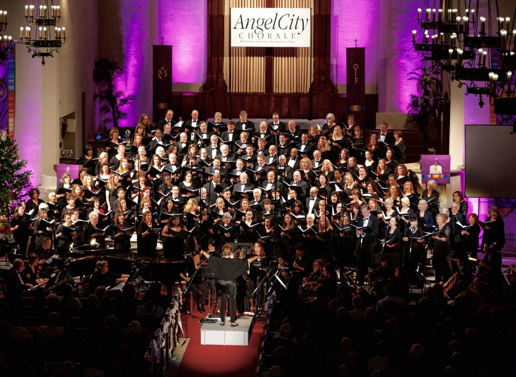 Angel City Chorale – Photo by Mel Stave.