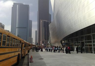 Walt Disney Concert Hall. Photo by Pauline Adamek.