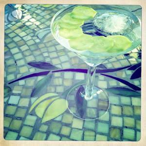 Hendricks Gin & Tonic with cucumber - sm