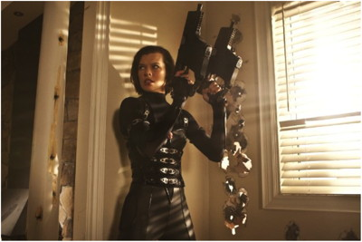 Resident Evil Retribution Interviews With Milla Jovovich Paul