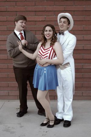 Liam Swan (l), Alana DeBlase and Keith Harmel. Photo credit: Elaine Conrad.