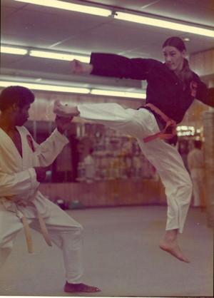 Jeff P - karate practice