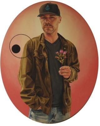 """""""Portrait of Lee Clark"""" © Jesus Max 2013"""