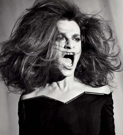 Sandra Bernhard photo shoot