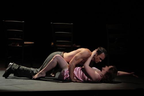 Ryan McKinny as Stanley and Stacey Tappan as Stella. (Photo: Robert Millard)
