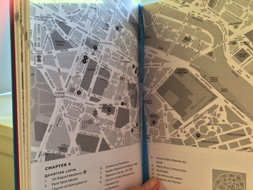 City Secrets Paris map