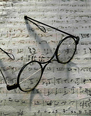Franz Schubert's's glasses