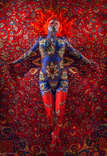 """Rug Messiah"" by Nicolette Spear."