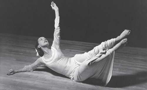 Photograph of Martha Graham (1940) by Barbara Morgan from the collection of Los Angeles Dance Foundation.