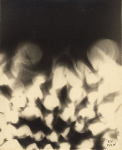 Untitled (Smoke), 1928, Man Ray, gelatin silver print. The J. Paul Getty Museum. © Man Ray Trust ARS-ADAGP