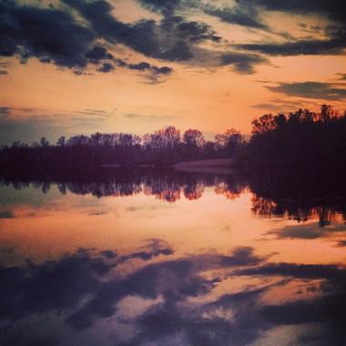 The Desna River, Russia.
