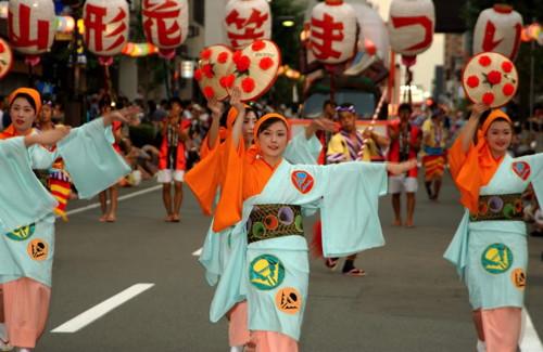 DANCE -- Hanagasa.