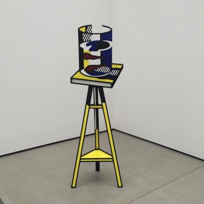 Lichtenstein sculpture