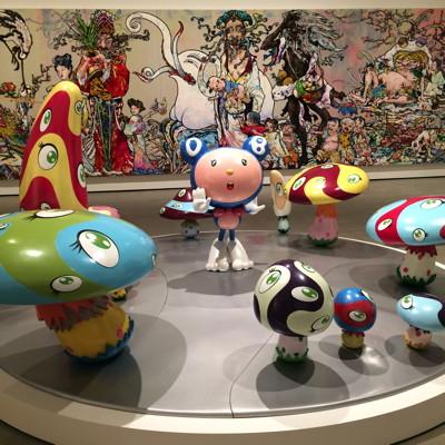 Murakami sculptures