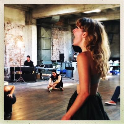 Rehearsal photo by Pauline Adamek.