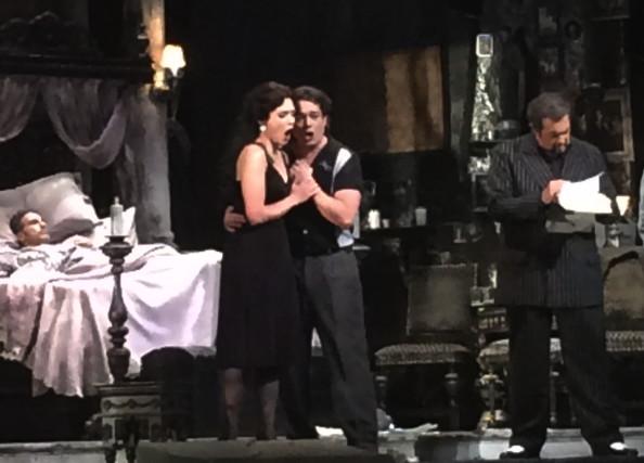 Gianni Schicchi opera. Photo by Pauline Adamek.