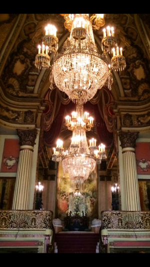 Los Angeles theater chandeliers