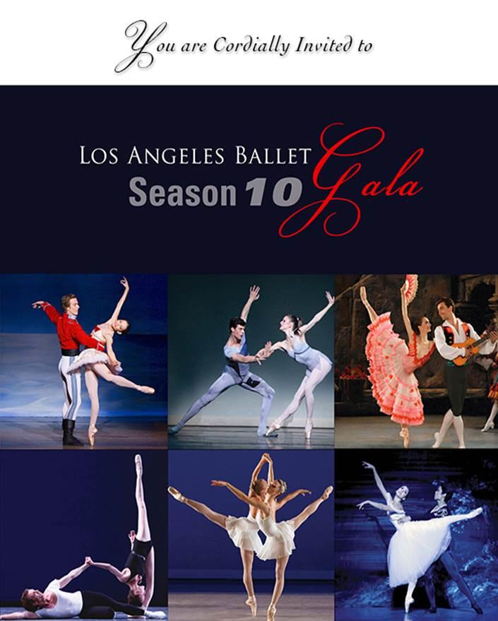 LA Ballet Season 10 GALA poster