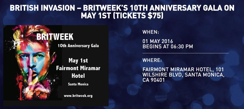 BritWeek Gala banner