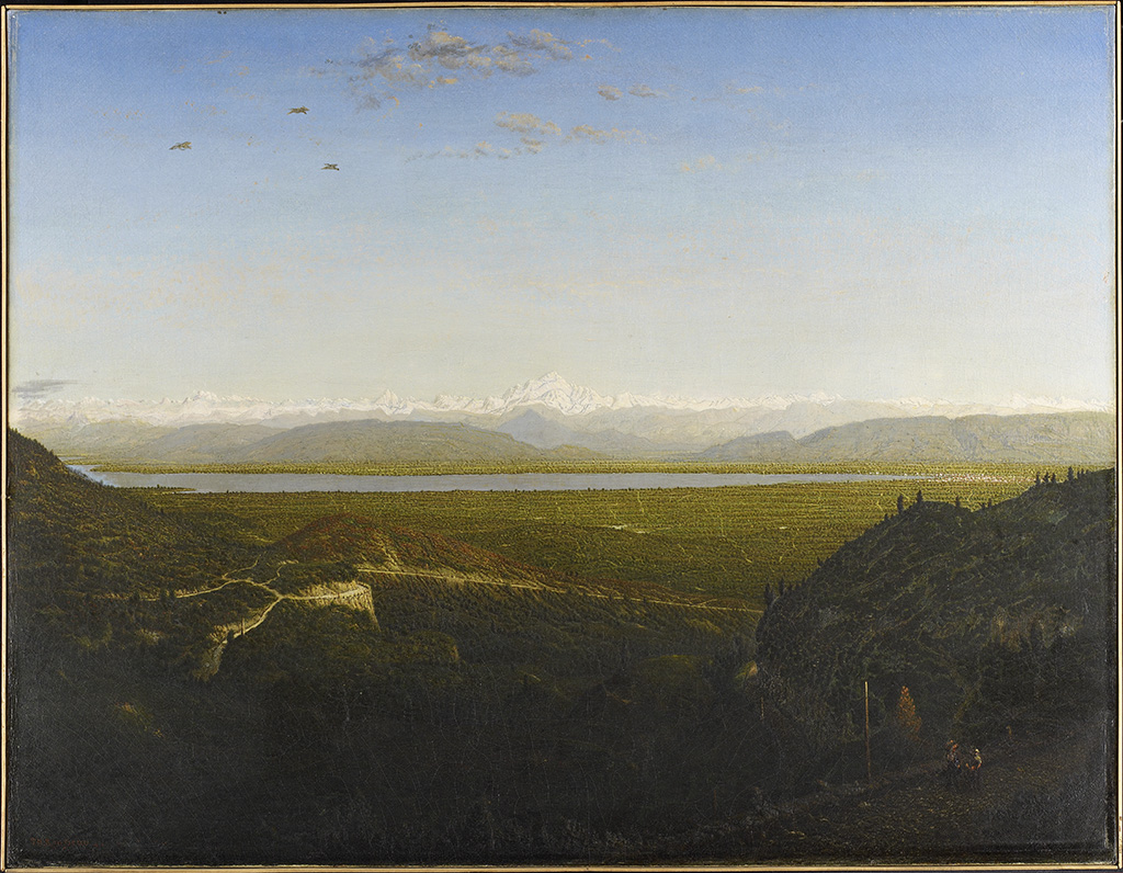 View of Mont Blanc, Seen from La Faucille, about 186367, Thodore Rousseau, oil on canvas. Courtesy of the Minneapolis Institute of Art, the Putnam Dana McMillan Fund. Photo: Minneapolis Institute of Art.
